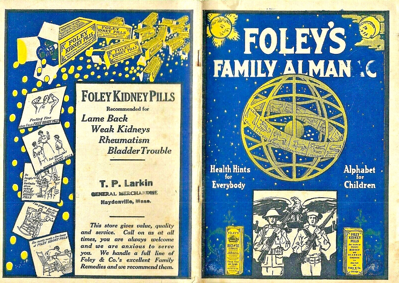 Foley Family Almanac 1918