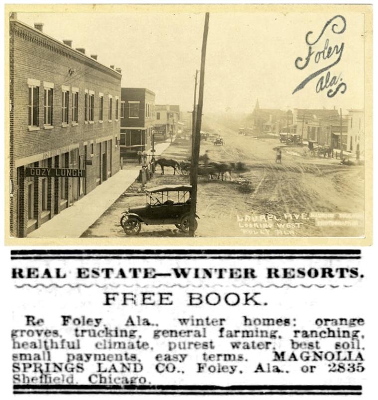 Foley Alabama 1910s