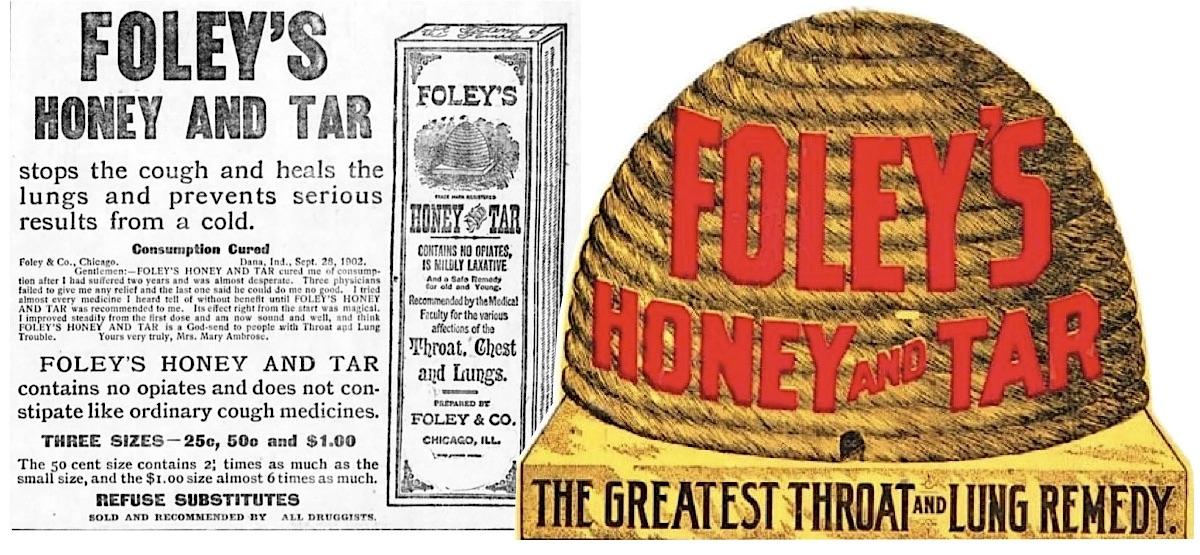 Foleys Honey and Tar