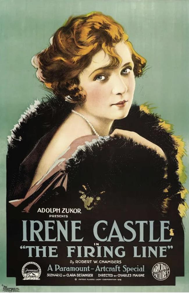 Irene Castle bob