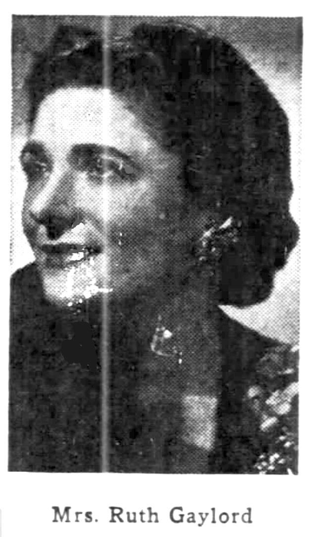Ruth K Gaylord
