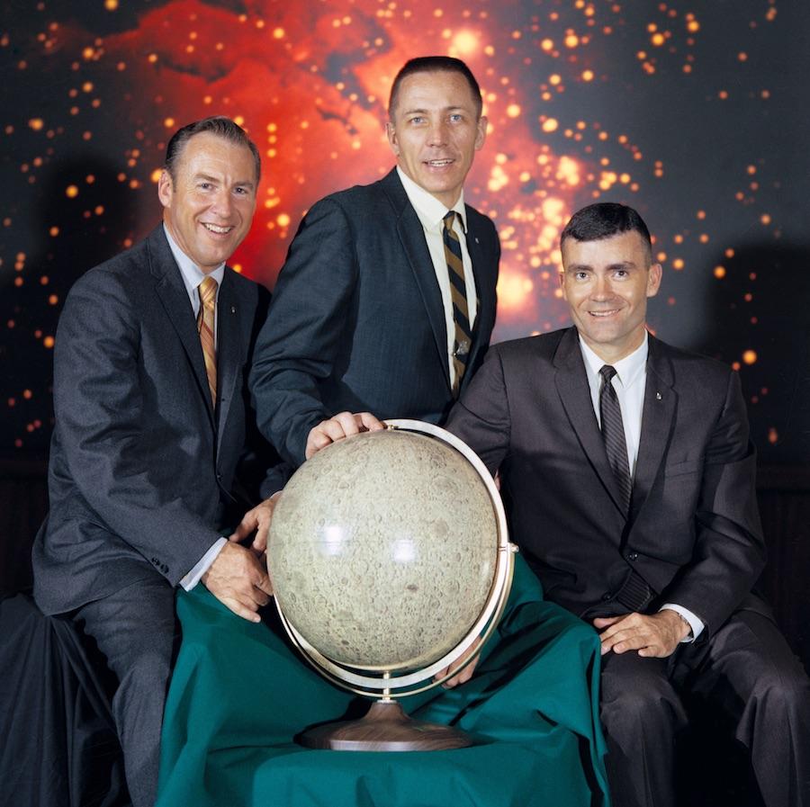 Apollo 13 Moon Globe Denoyer-Geppert