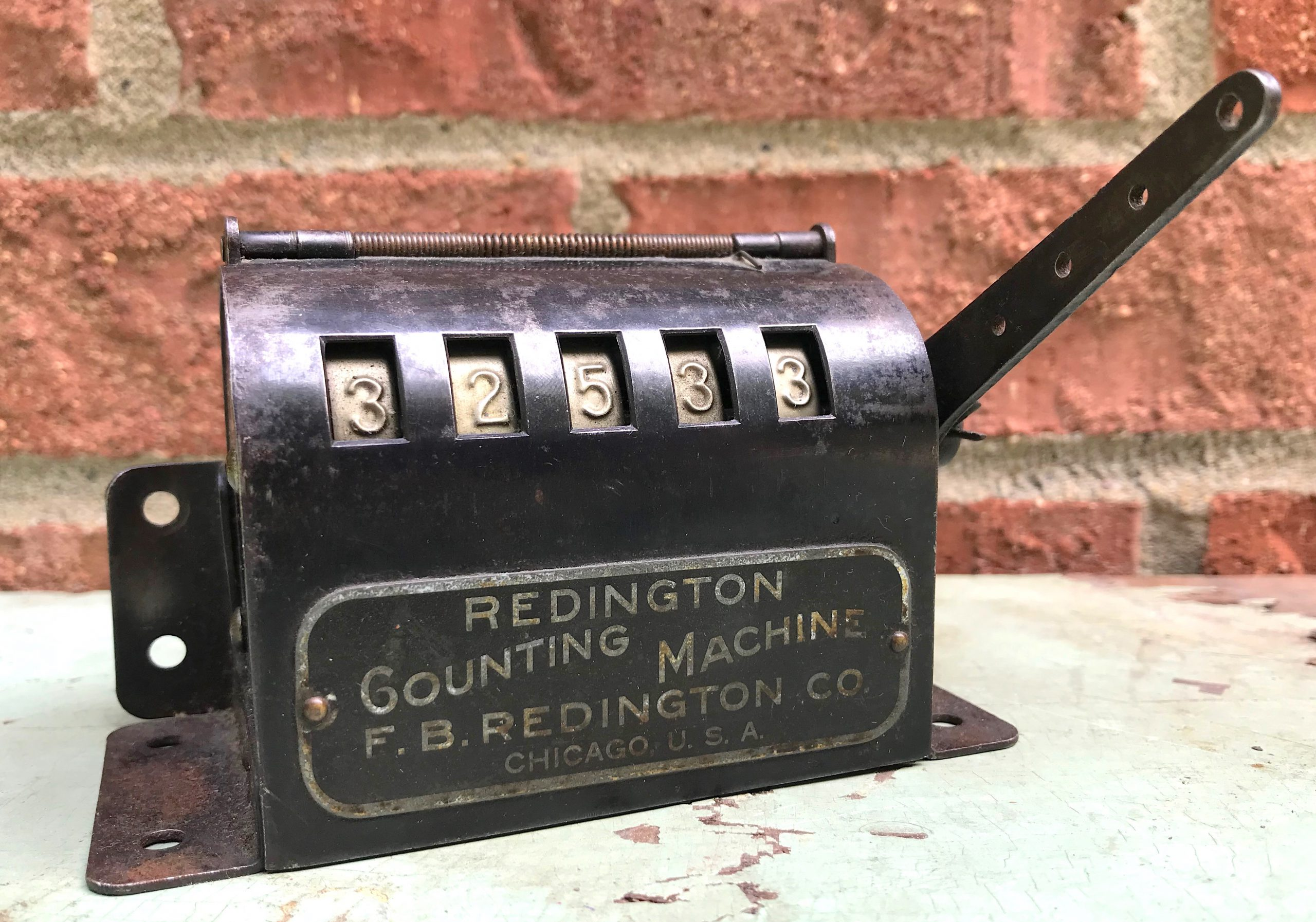F. B. Redington Counting Machine History