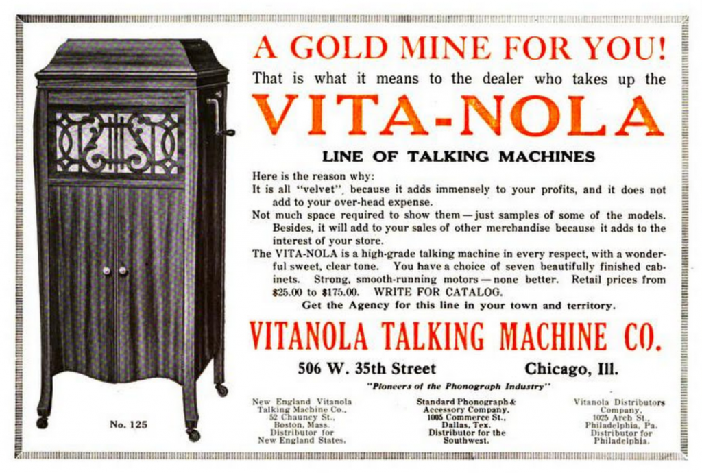 Vita-Nola Talking Machine