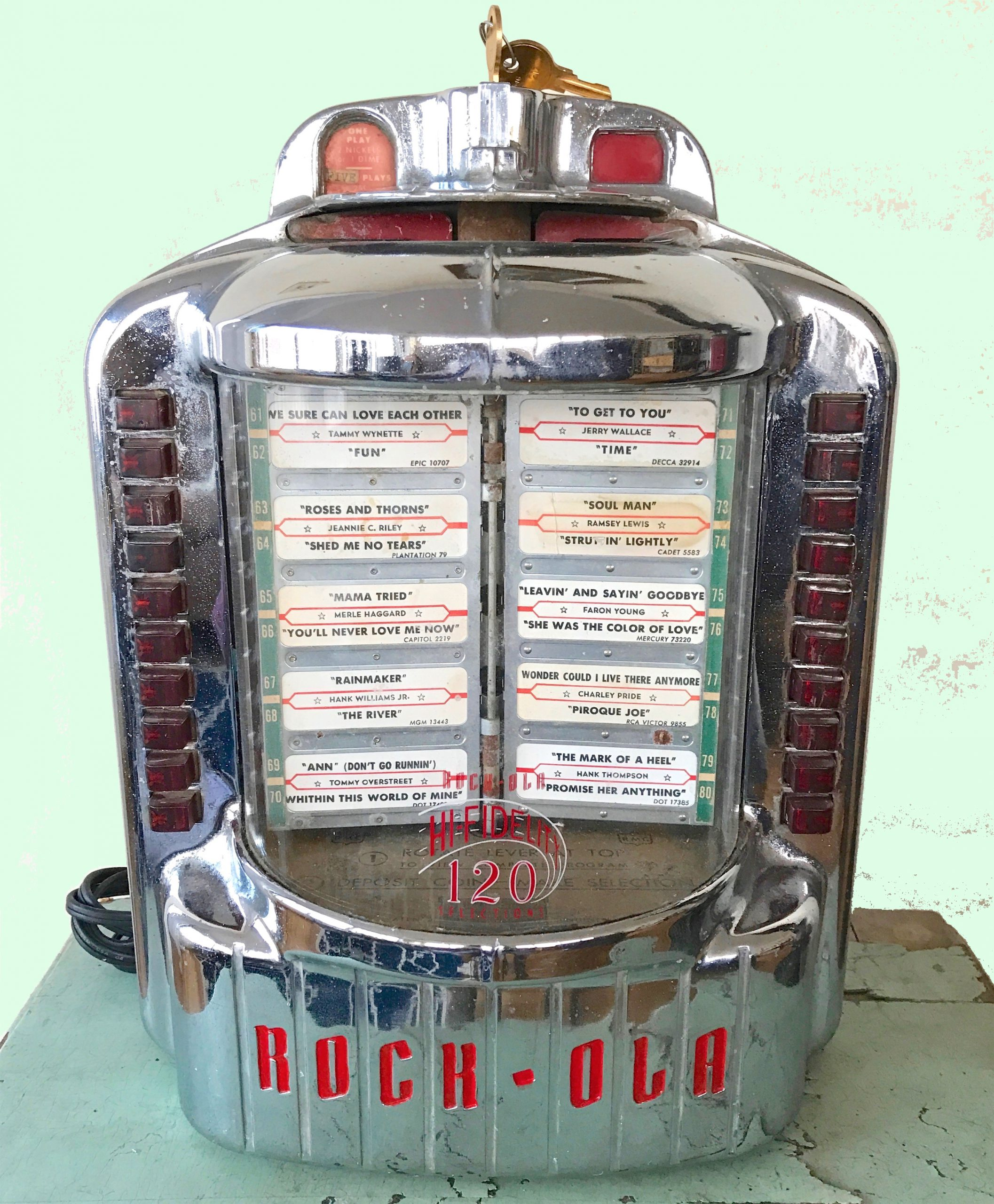 Rock-Ola Jukebox History