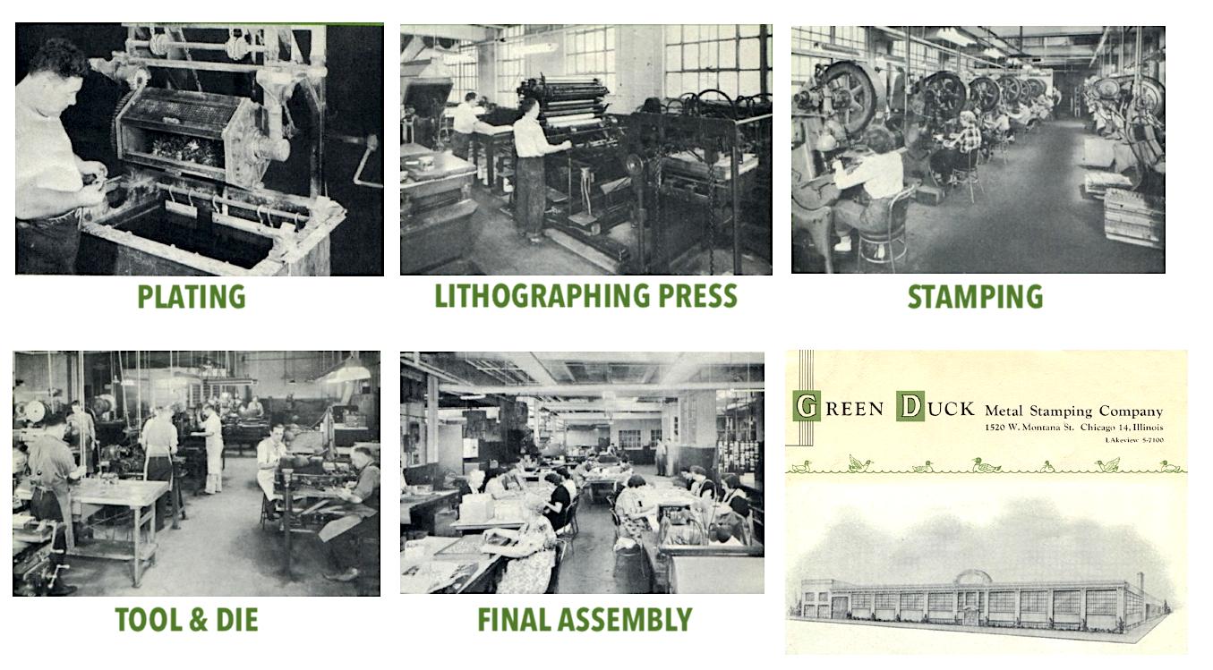 Green Duck Company Factory
