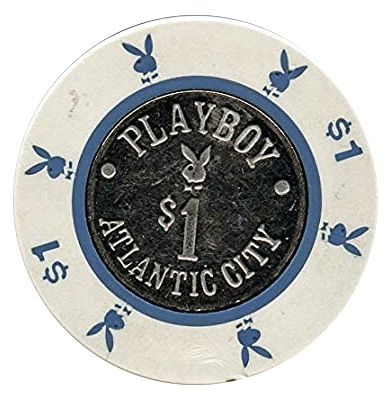 Green Duck Playboy Casino Chip