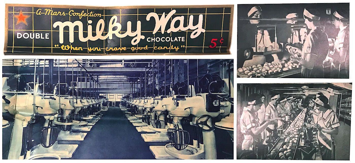 Mars candy factory workers