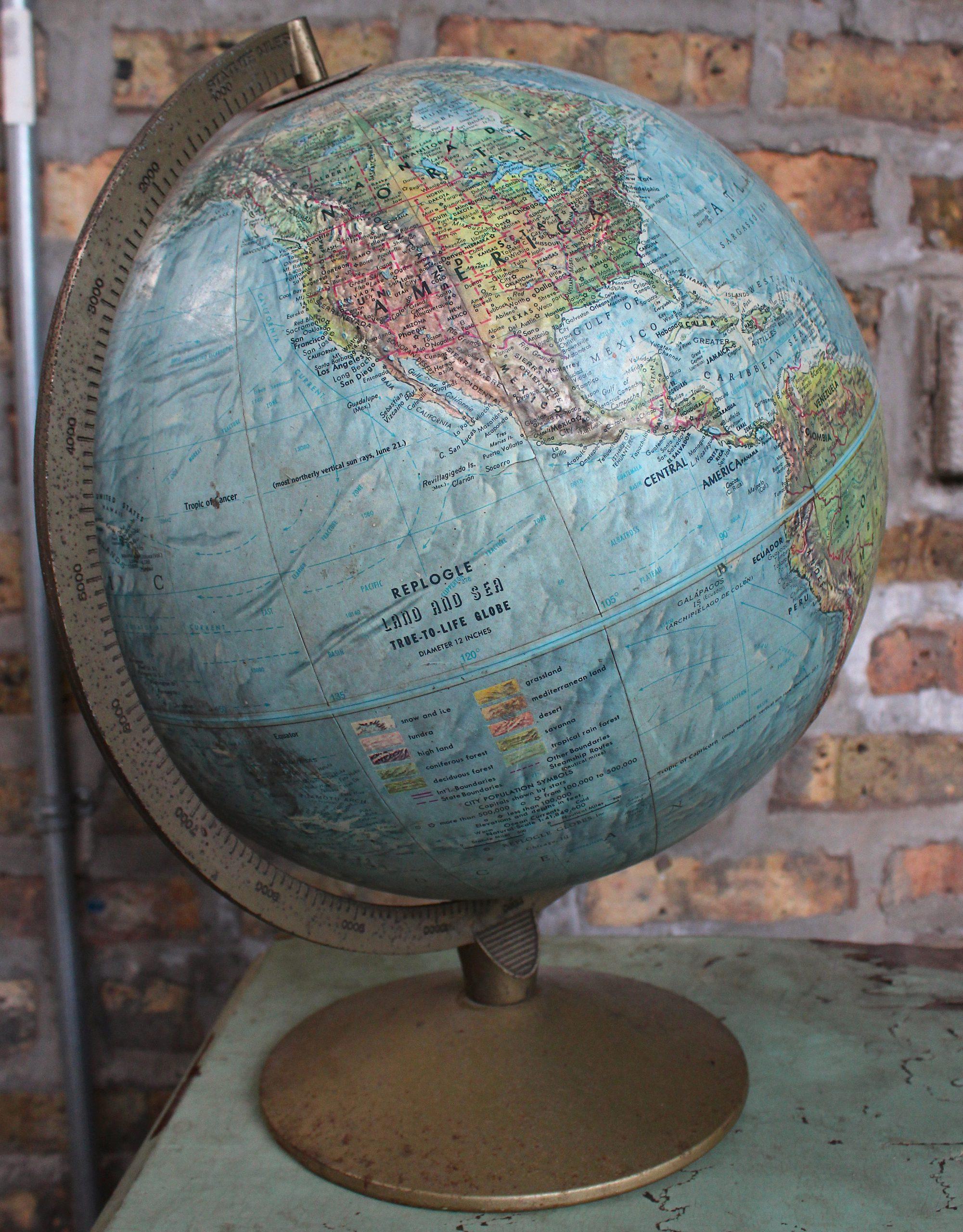 Replogle Globes, Inc., est. 1930