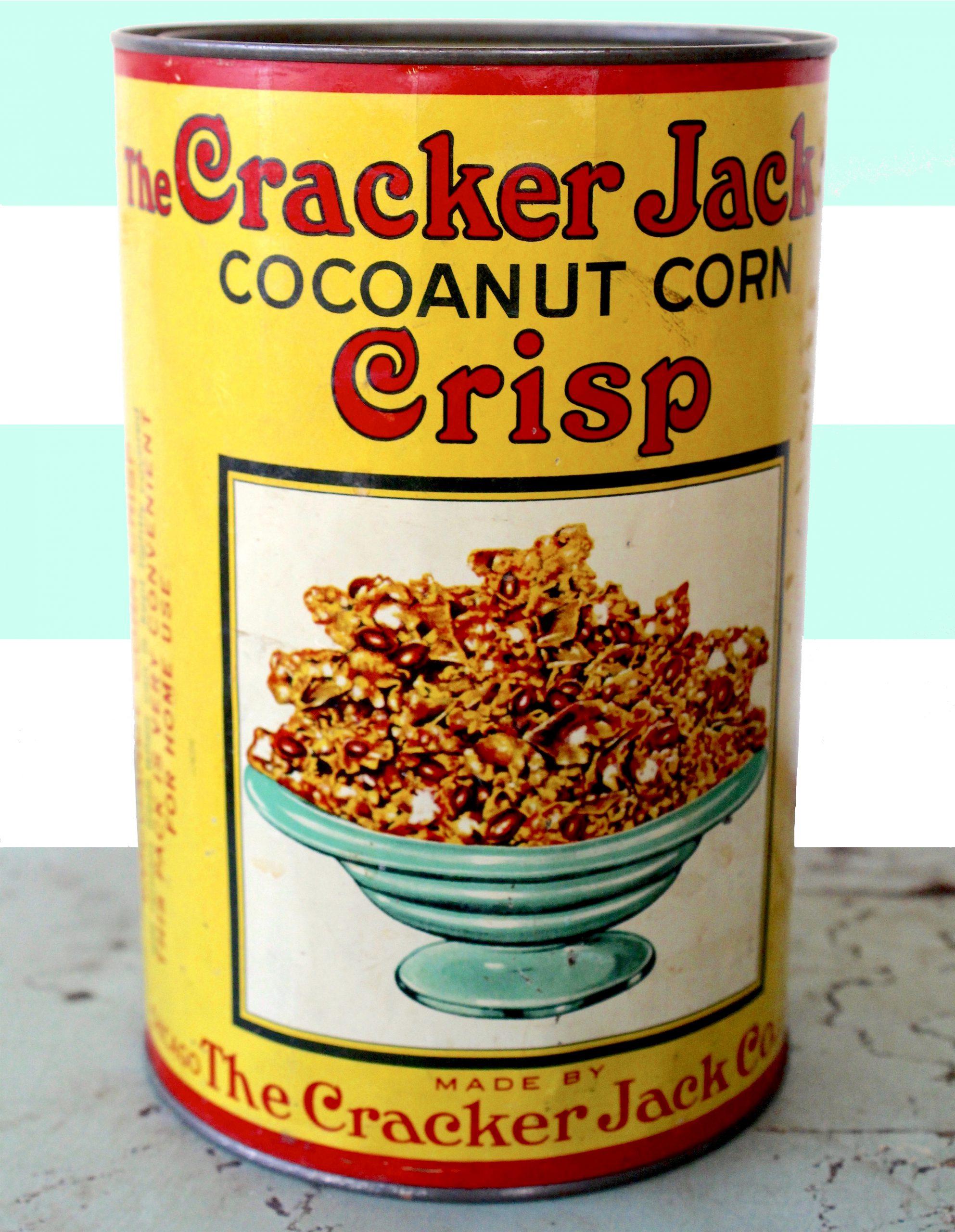 Cracker Jack History - Cocoanut Corn Crisp