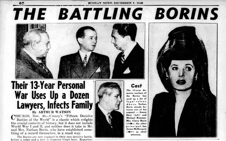 Battling Borins 1946