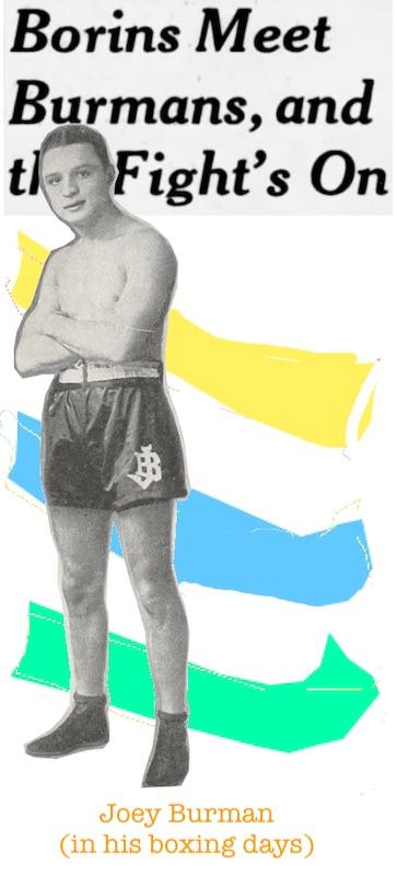 Joey Burman boxer