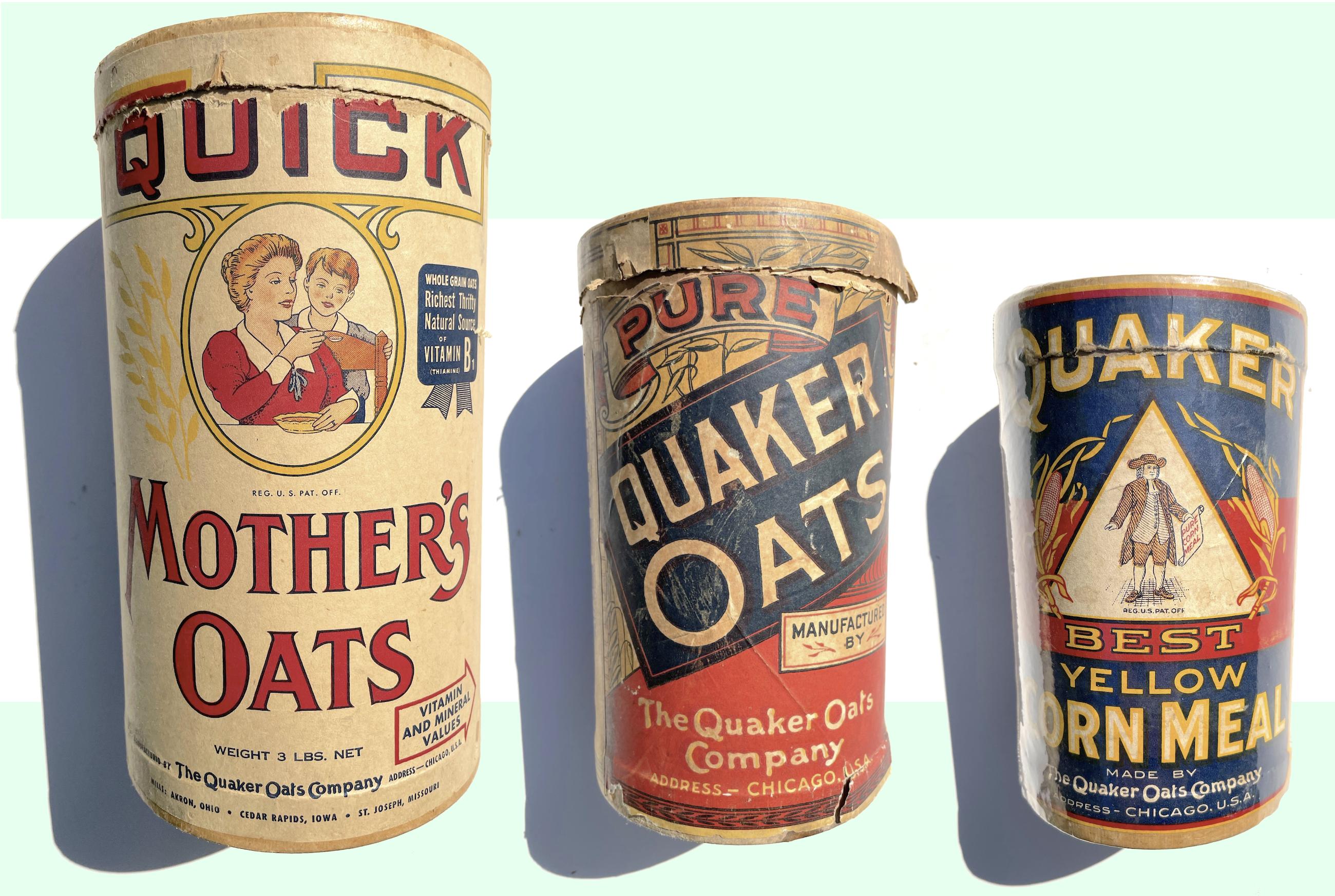 Quaker Oats history