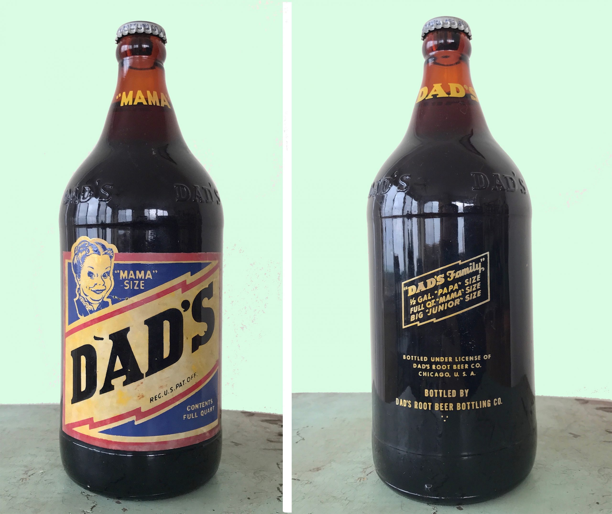Dad's Root Beer Co., est. 1937