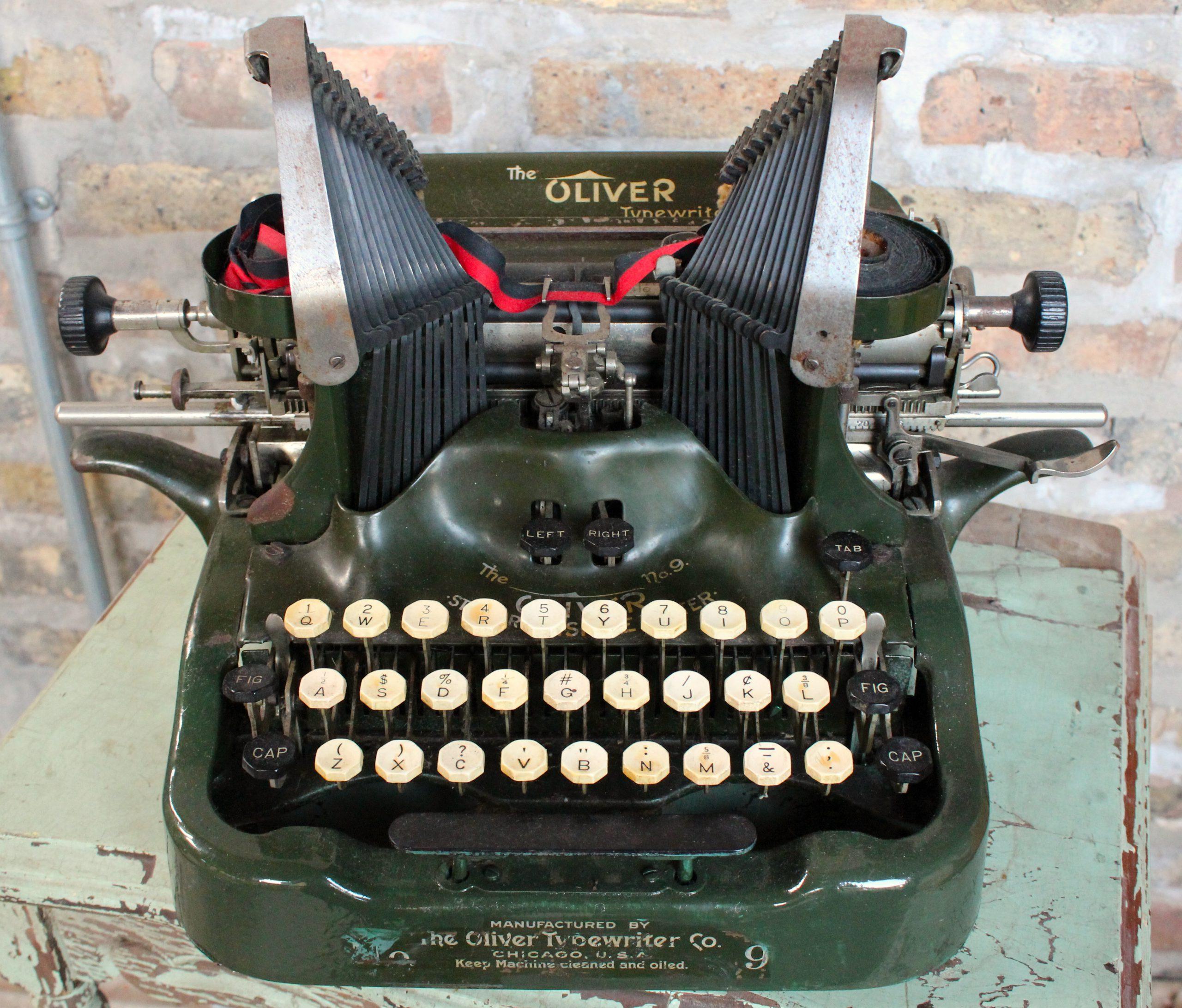 Oliver Typewriter Company, est. 1896