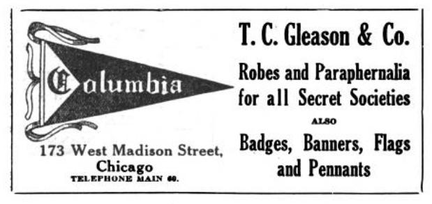 T. C. Gleason & Co advertisement