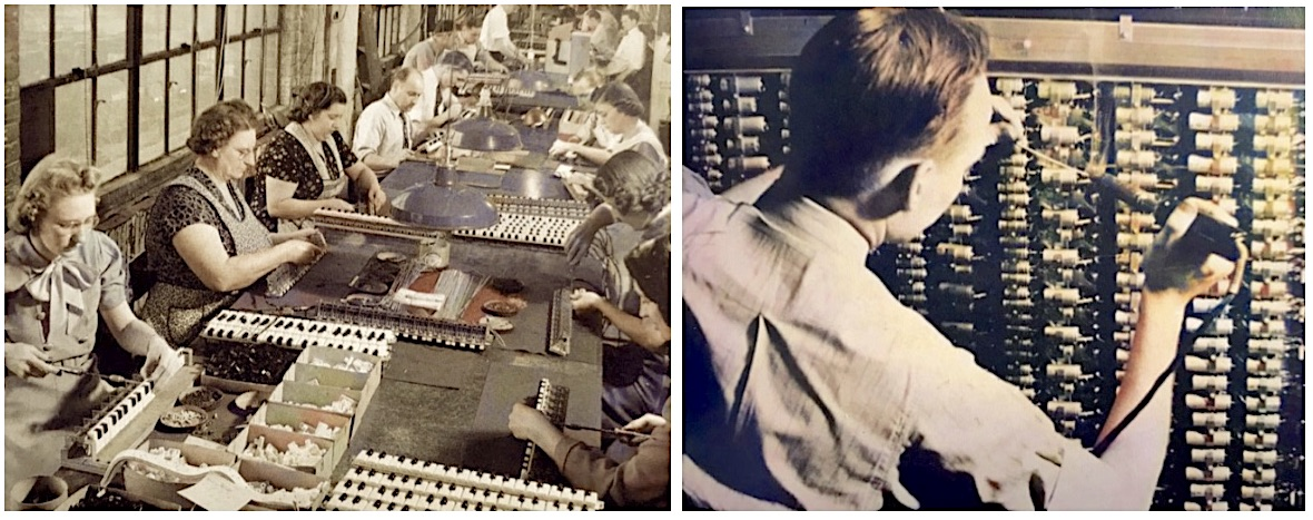 Hammond factory workers