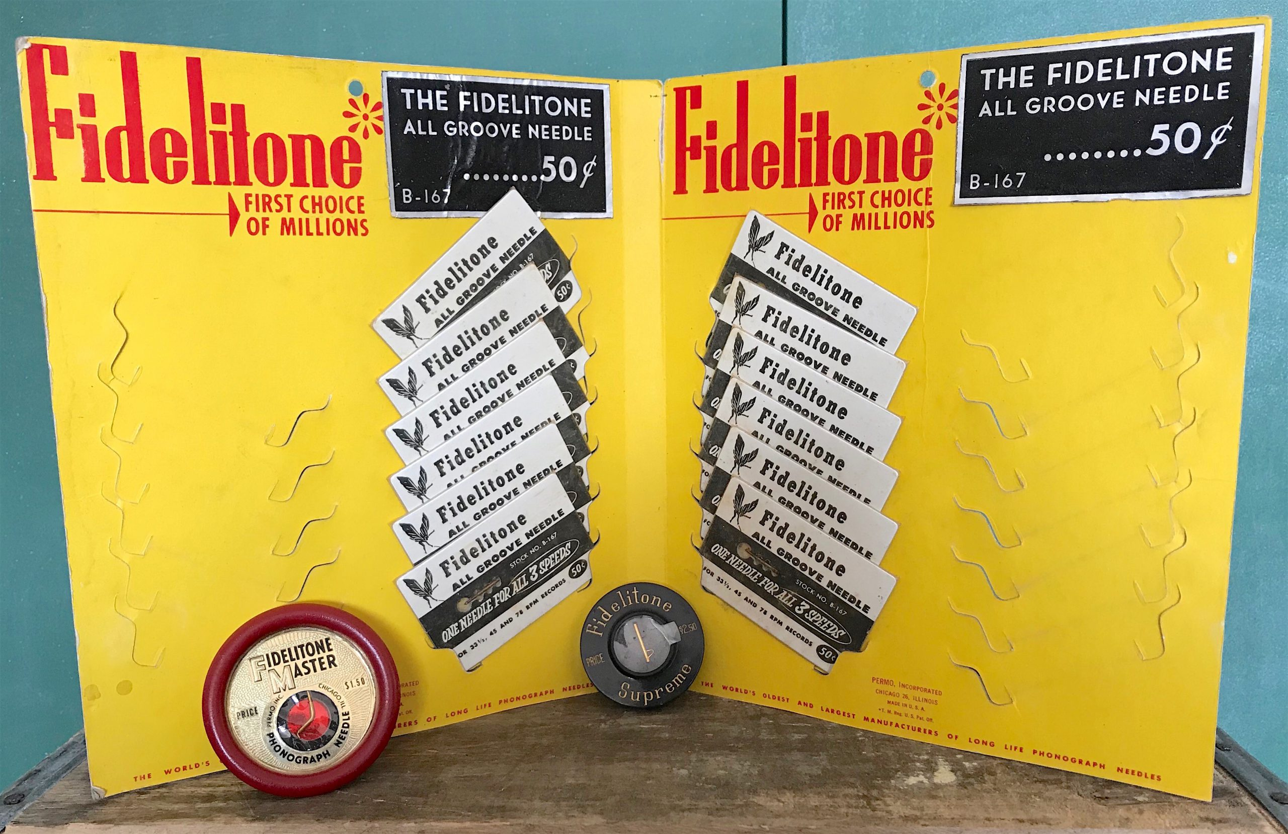 Fidelitone Needles Permo Inc.