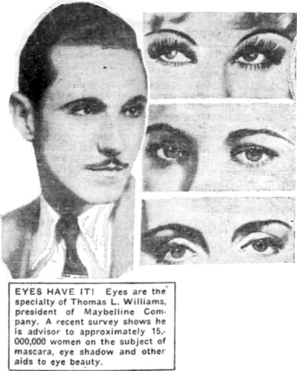 Tom Lyle Williams Maybelline