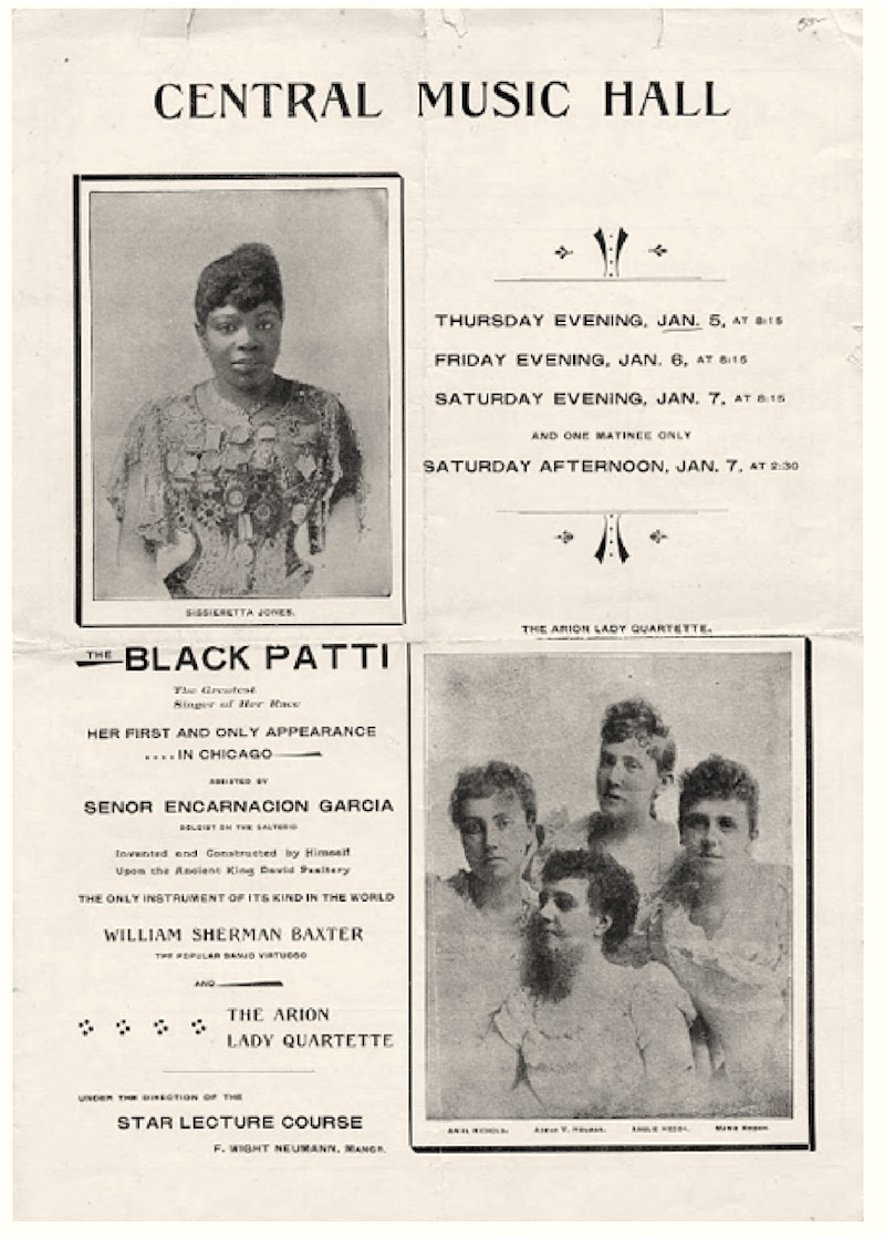 Black Patti and Arion Lady Quartette