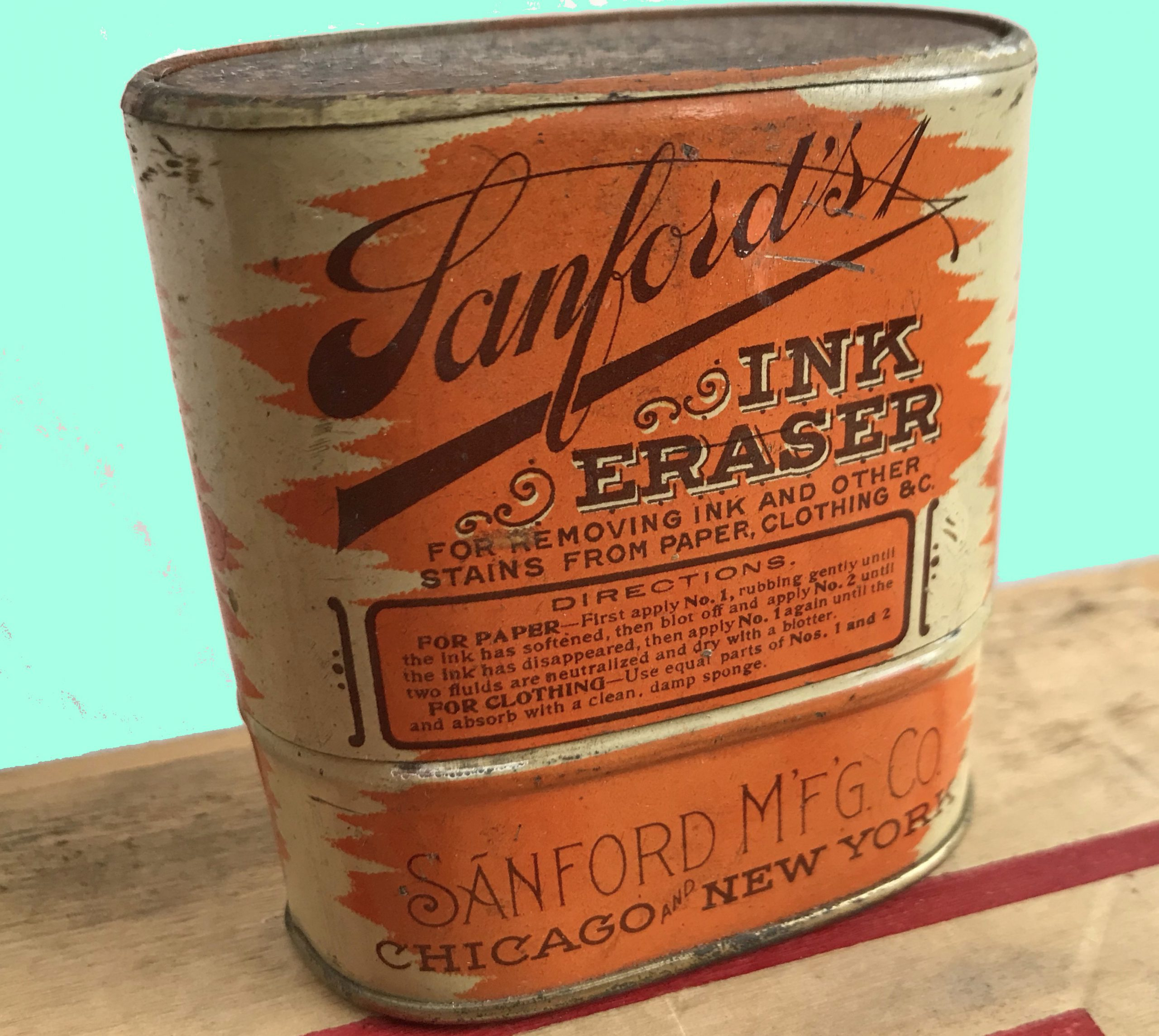 Sanford's Ink Eraser