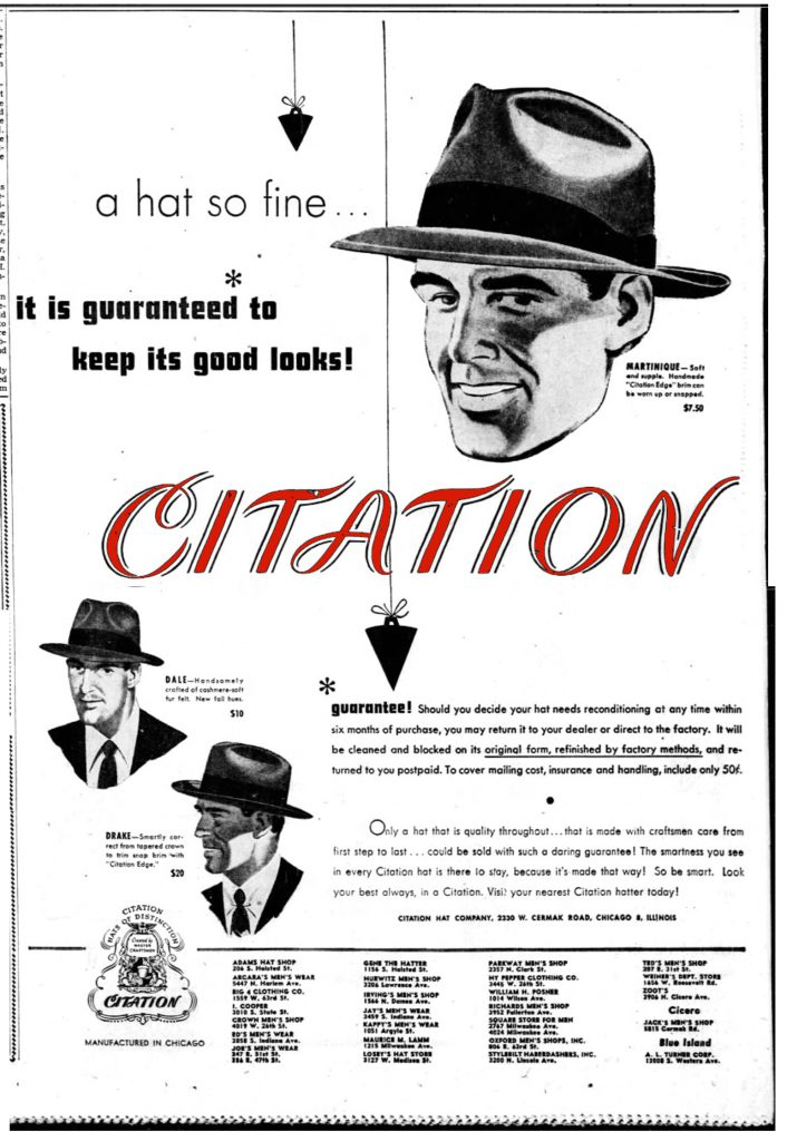 Citation Hat Co.