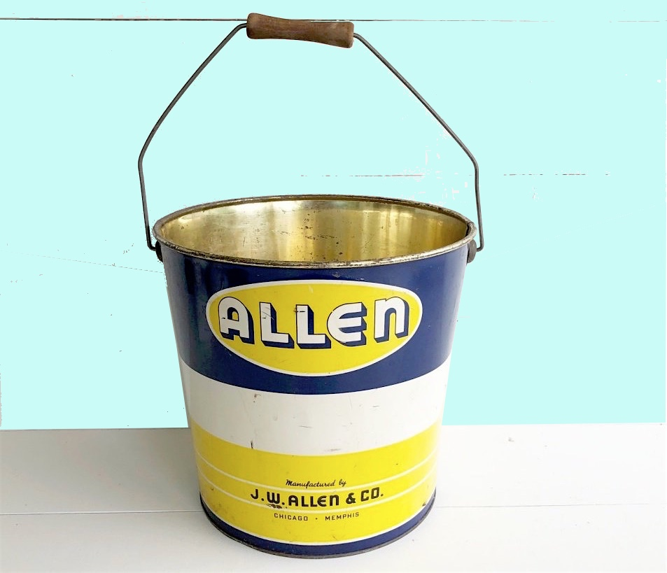 J. W. Allen Baking Supply Pail