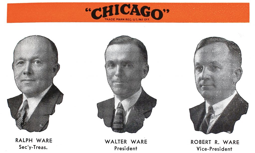 Ware Brothers Chicago
