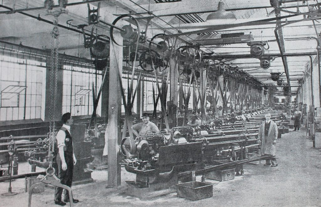 Chicago Roller Skate factory