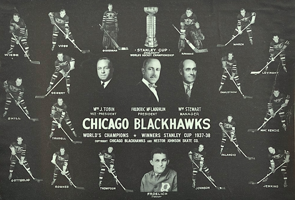 Chicago Blackhawks 1937-38 Stanley Cup