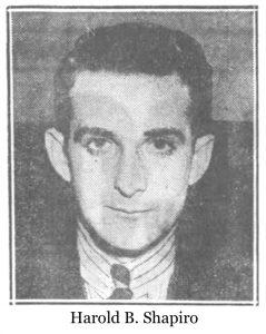 Harold B. Shapiro