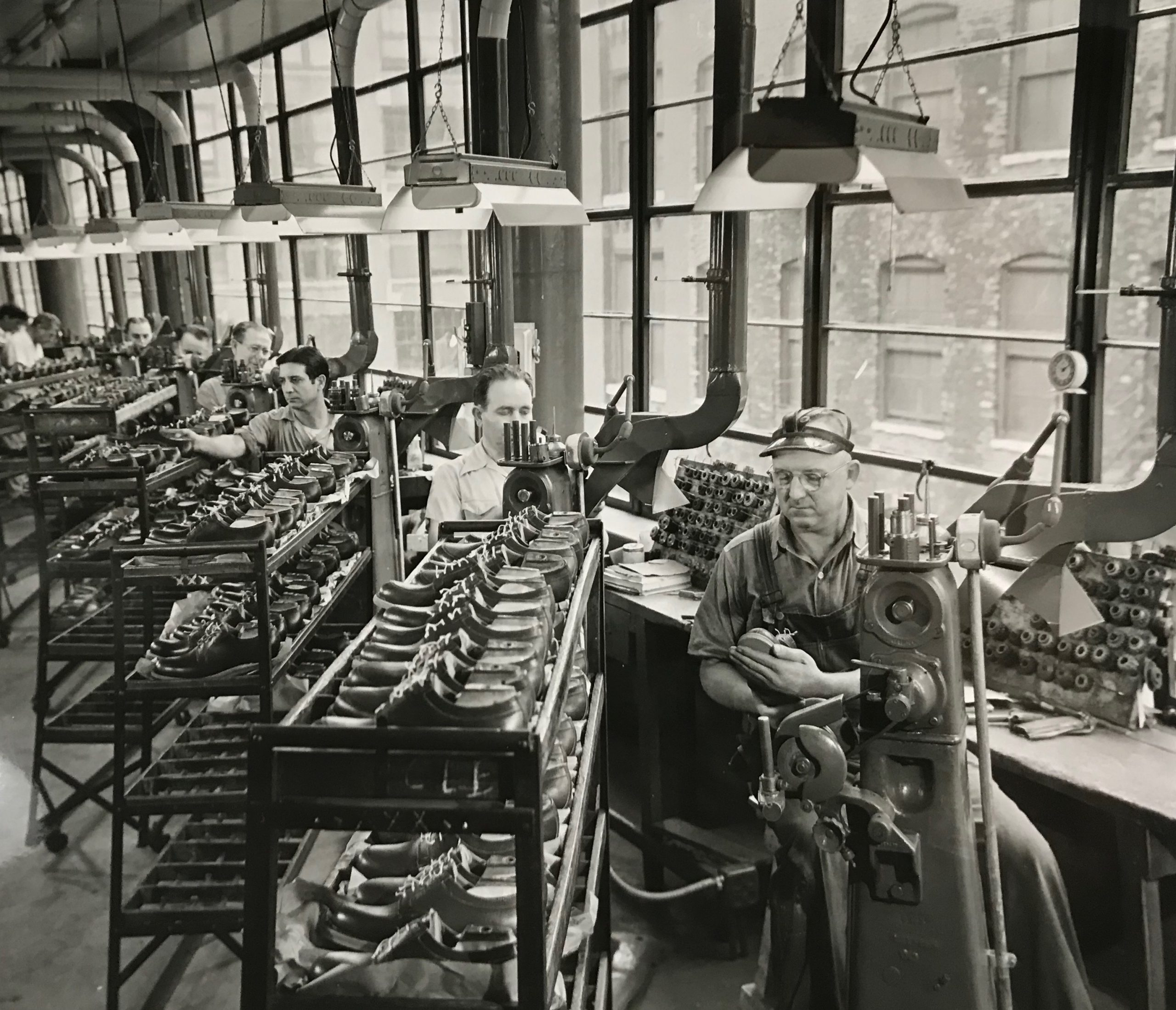 Florsheim Factory Workers chicago
