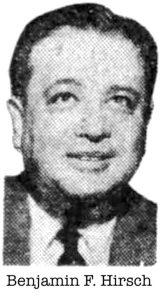 Benjamin F. Hirsch
