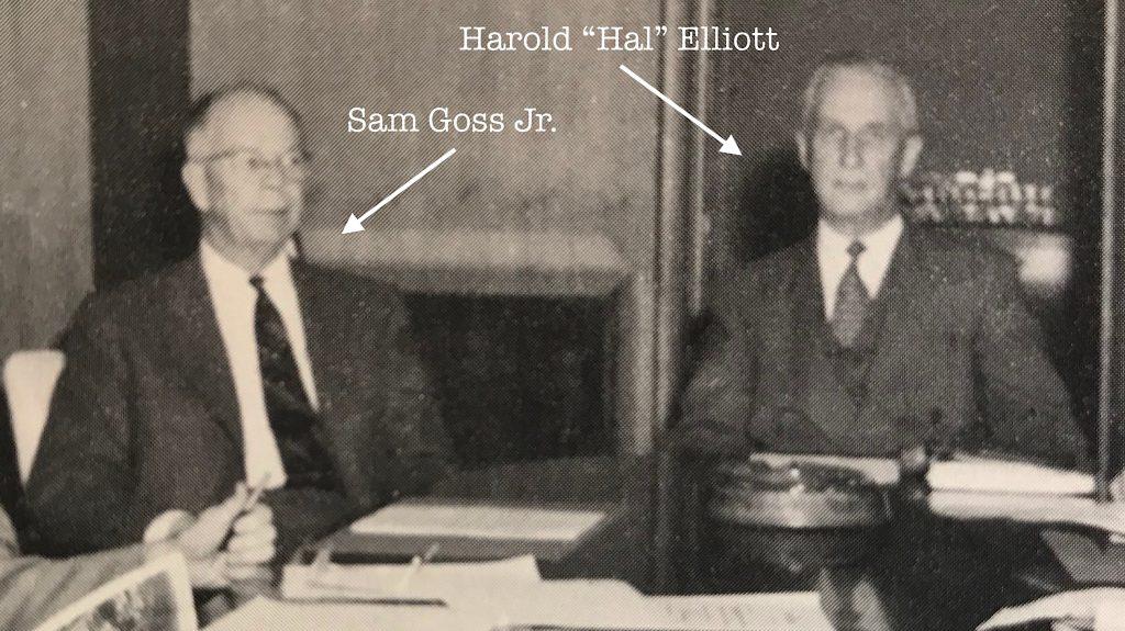 Sam Goss and Hal Elliott