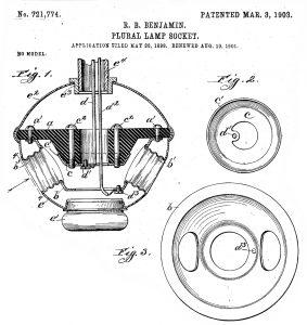 Benjamin Plural Lamp Socket