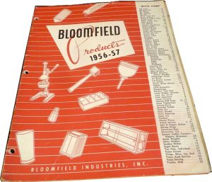Bloomfield Products 1956