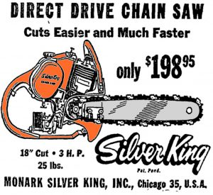 Silver King Chain Saw