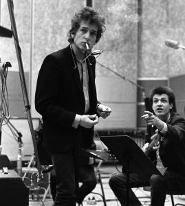 Dylan and Michael Bloomfield