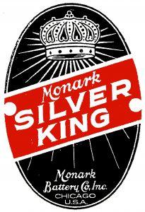 Monark Silver King Badge