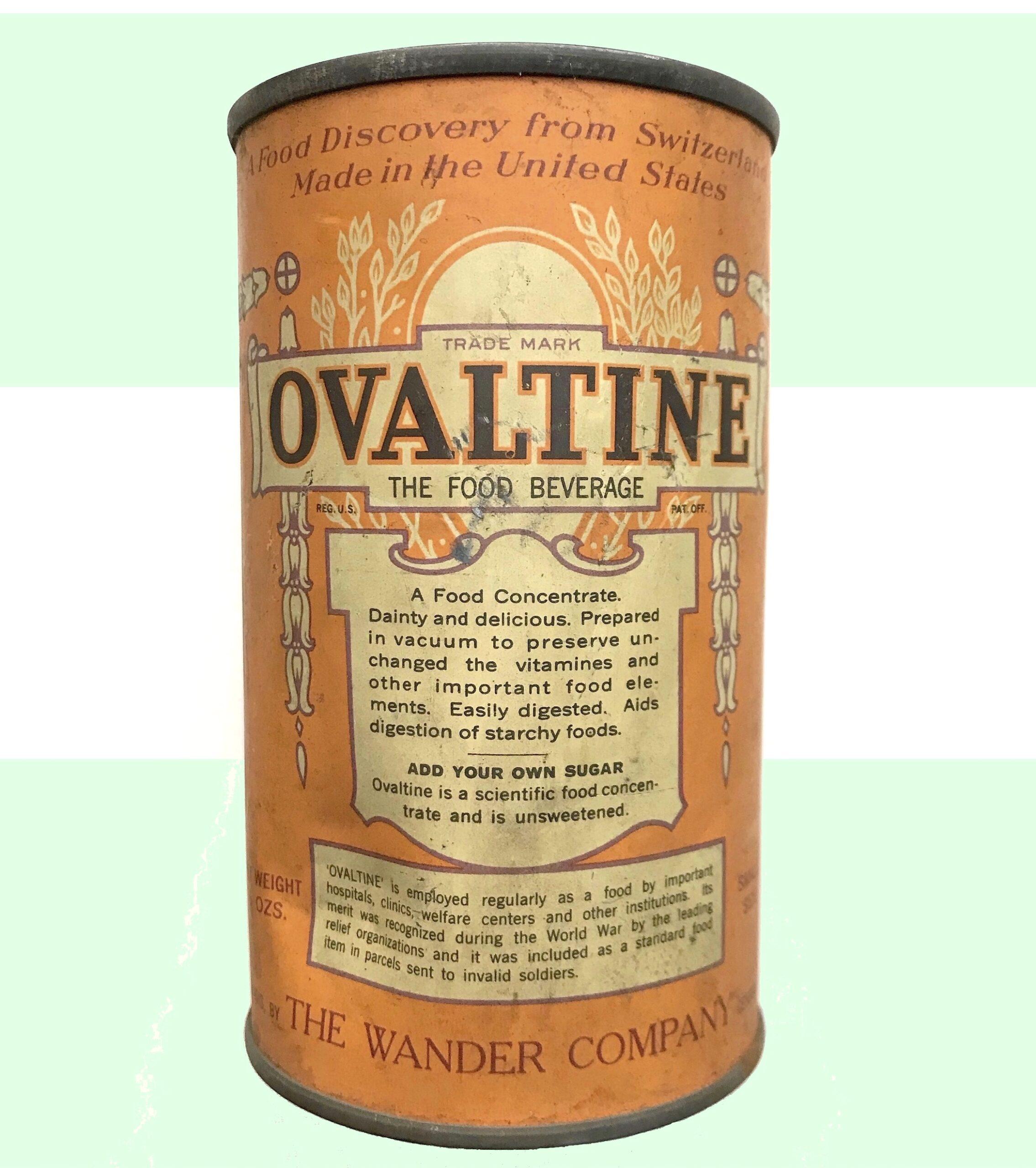 Wander Company Ovaltine 1921