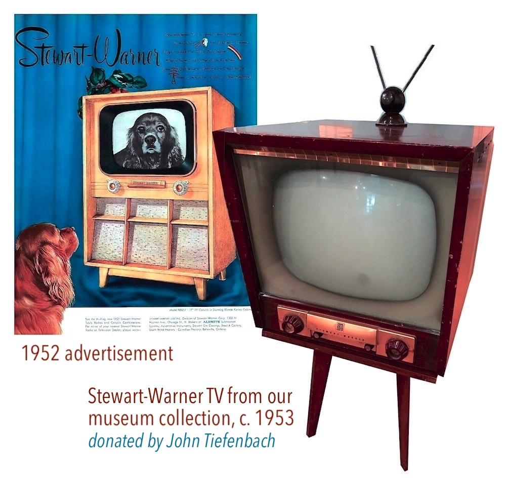 Stewart Warner TV