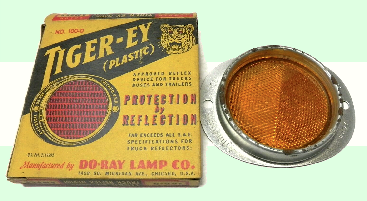 Do-Ray Lamp Co., est. 1920