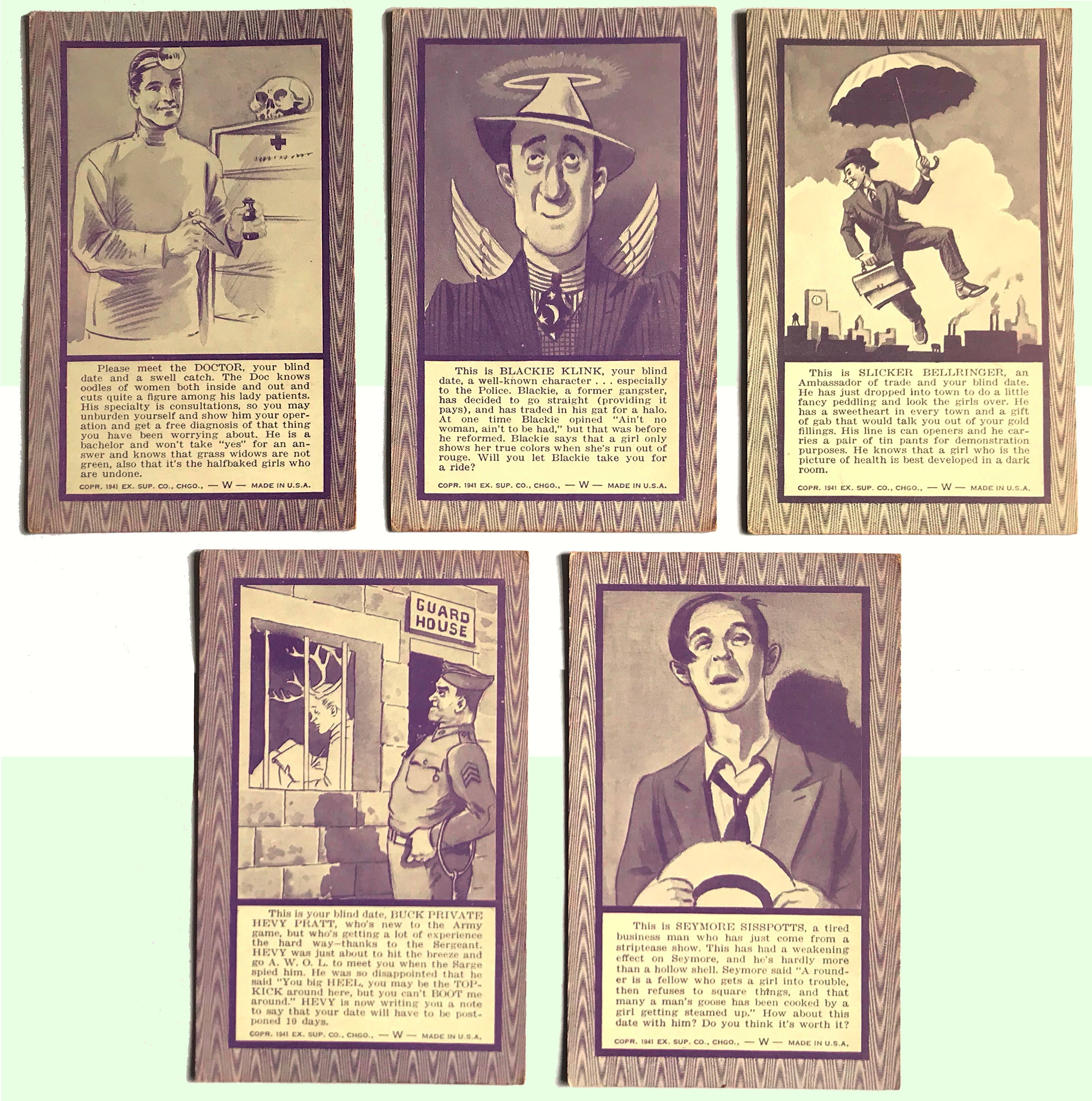 Exhibit Supply Co. cards