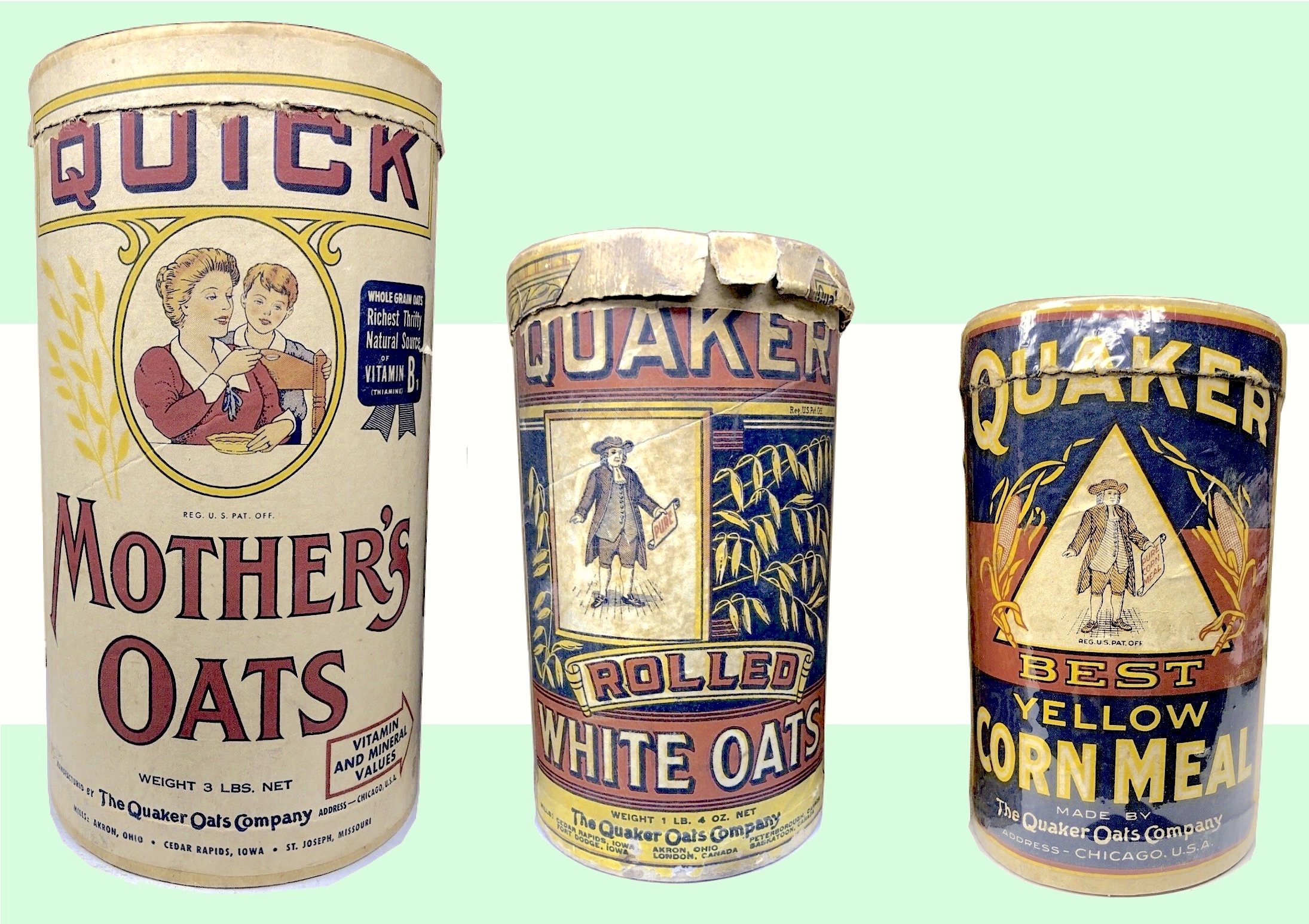 Quaker Oats Company, est. 1877