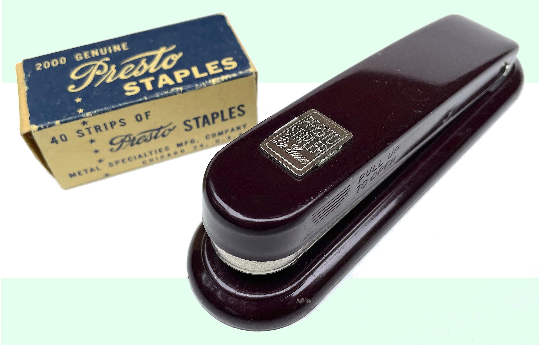 Metal Specialties Presto stapler
